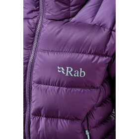 Rab Electron Pro Jacket Women, black currant